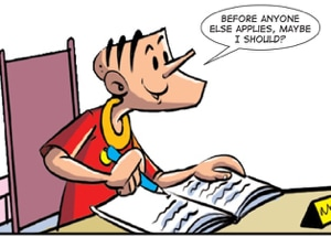 Junior Sub-Editor at Tinkle